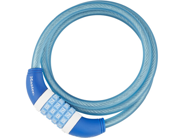 Masterlock 8231 Kabelslot 10 mm x 1.200 mm, blue